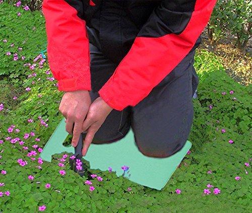 Novo Garden Kneeler Pads Seat Cushion Mat Green (15-Inchx7-Inchx0.7-Inch) for Gardening,Praying,Yoga,Baby bath,Work ,Workout by Mr.Garden