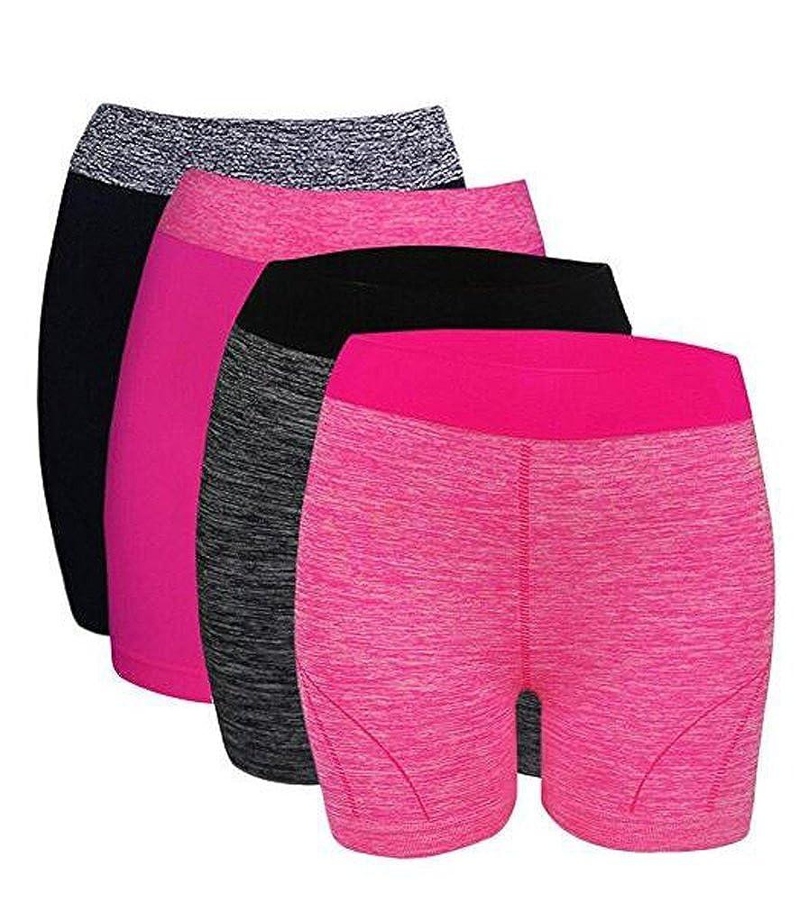 October Elf Womens Workout Shorts Boyshort Yoga Bike Shorts OE257MX