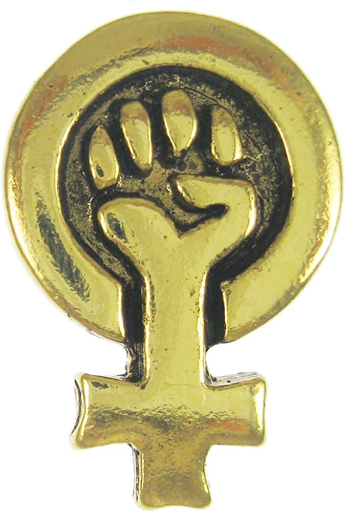 Jim Clift Design Votes for Women Gold Lapel Pin