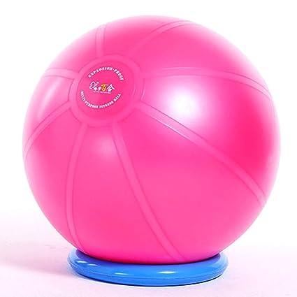 Amazon.com: Pelota de fitness para yoga, pelota de ...