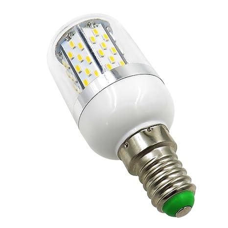 Pack 2, E14 LED Light Bulb 12V-24V AC/DC 3.5W 380 Lumen 78PCS 3014 ...