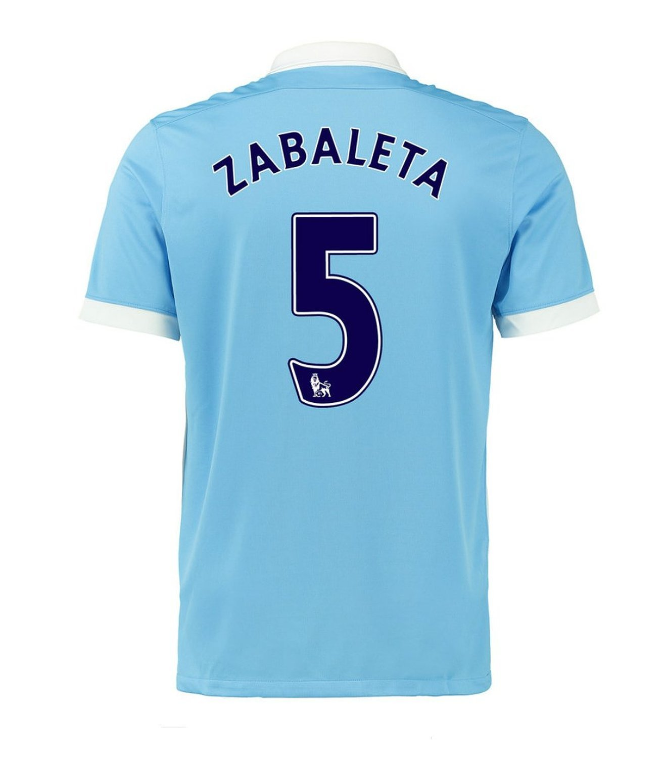 Nike Zabaleta #5 Manchester City Home Soccer Jersey 2015(Authentic name and number of player)/サッカーユニフォーム マンチェスターシティ FC サバレタ 背番号5 2015 B016J4AVO0 X-Large