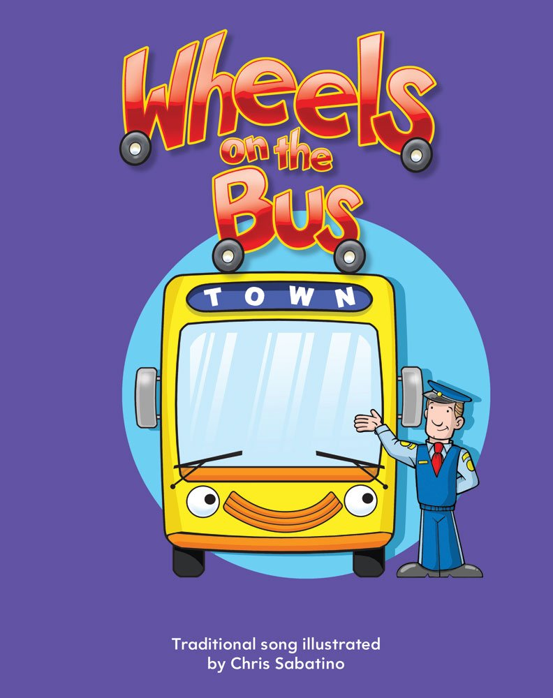 Wheels on the Bus Lap Book (Literacy, Language, and Learning) Paperback – August 1, 2010 Teacher Created Materials 1433318253 Transportation - General Children' s Books