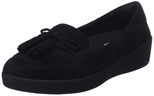 Fitflop Tassel Bow Sneakerloafer, Mocasines (Loafer) para Mujer: Amazon.es: Zapatos y complementos
