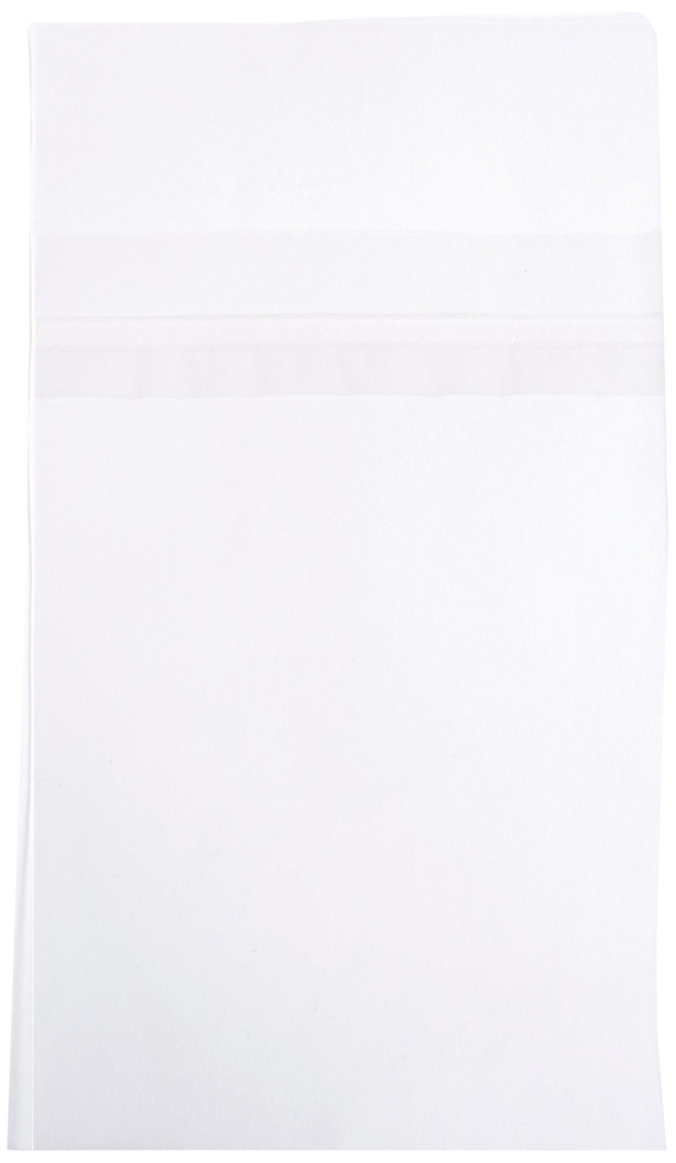 Archival Methods Crystal Clear Bags, Size: 4-7/8X6-1/8'', Safety Seal, Package Of 100.