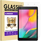 [2 Pack] LEEBOSS Samsung Galaxy Tab A 8.0 2019 Screen Protector, (Wi-Fi Version SM-T290) Ultra Clear Premium Tempered Glass F
