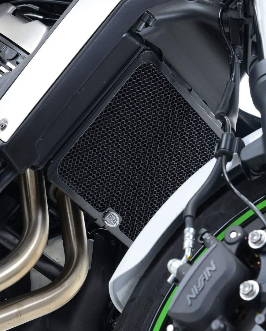 Black R/&G Radiator Guard For Kawasaki Vulcan S 15-18