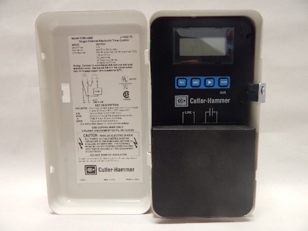 INTERMATIC ET1725CPD82 Electronic Timer,7 Days,SPST