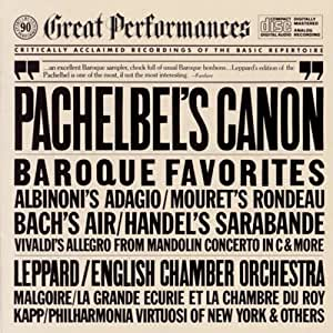Great Baroque Favorites: Pachelbel's Canon