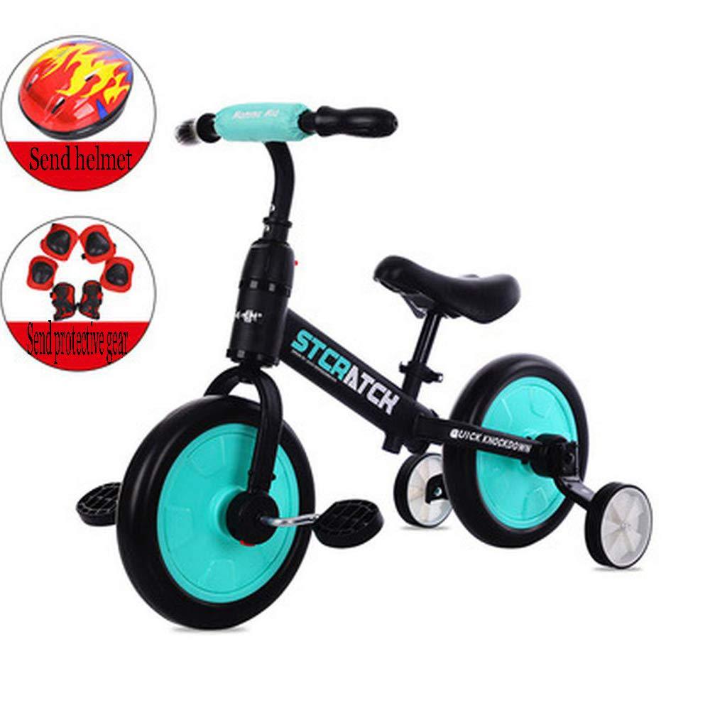 Amazon.com: ZBNMGHFT - Bicicleta de bebé de dos ruedas para ...