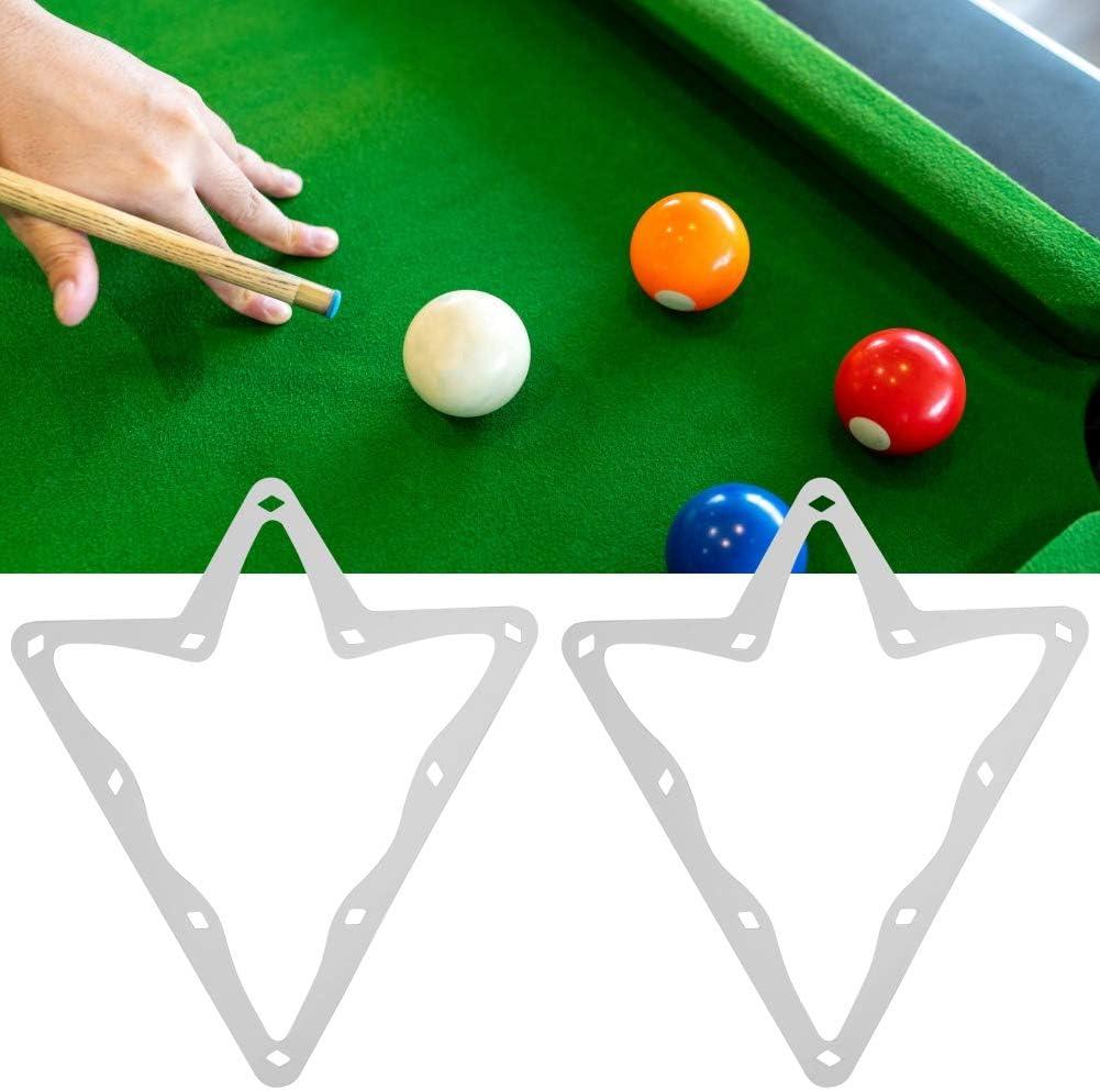 KEENSO 6Pcs Billar Mágico Rack Sheet Table Pool Pool 10-Ball Paper Tip Tool Accesorio Blanco, Sheet Pool Cue Rack Sheets Accesorio de Billar: Amazon.es: Deportes y aire libre