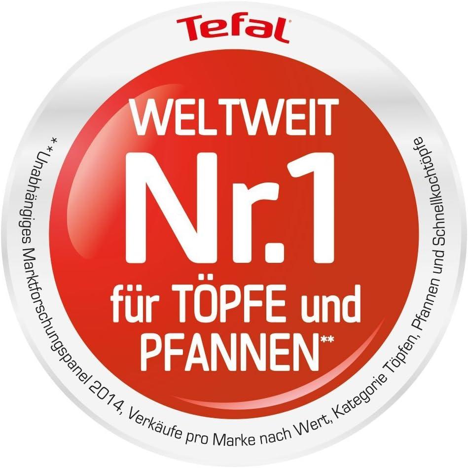 Tefal Sartén Talent Pro E4400685, 28 cm de diámetro, Aluminio ...