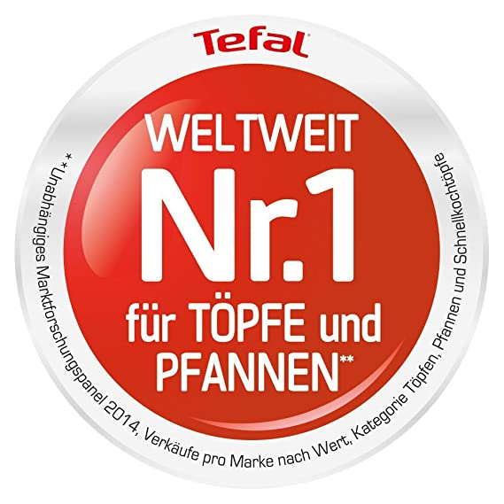 Tefal Sartén Talent Pro E4400685, 28 cm de diámetro, Aluminio, Negro