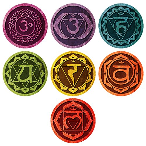 Chakras Energy Centers Wall Decal product image