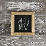 bawansign Witchs Brew Rae Dunn Inspired Wood Sign