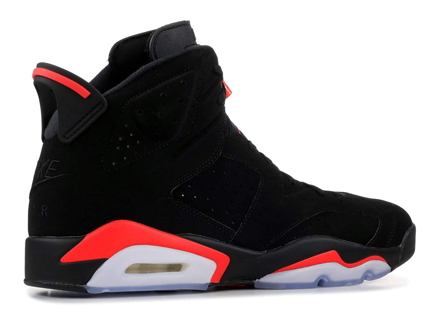 newest collection 8203c fabb7 Amazon.com | Nike Air Jordan 6 Retro OG Black/Infrared 2019 ...