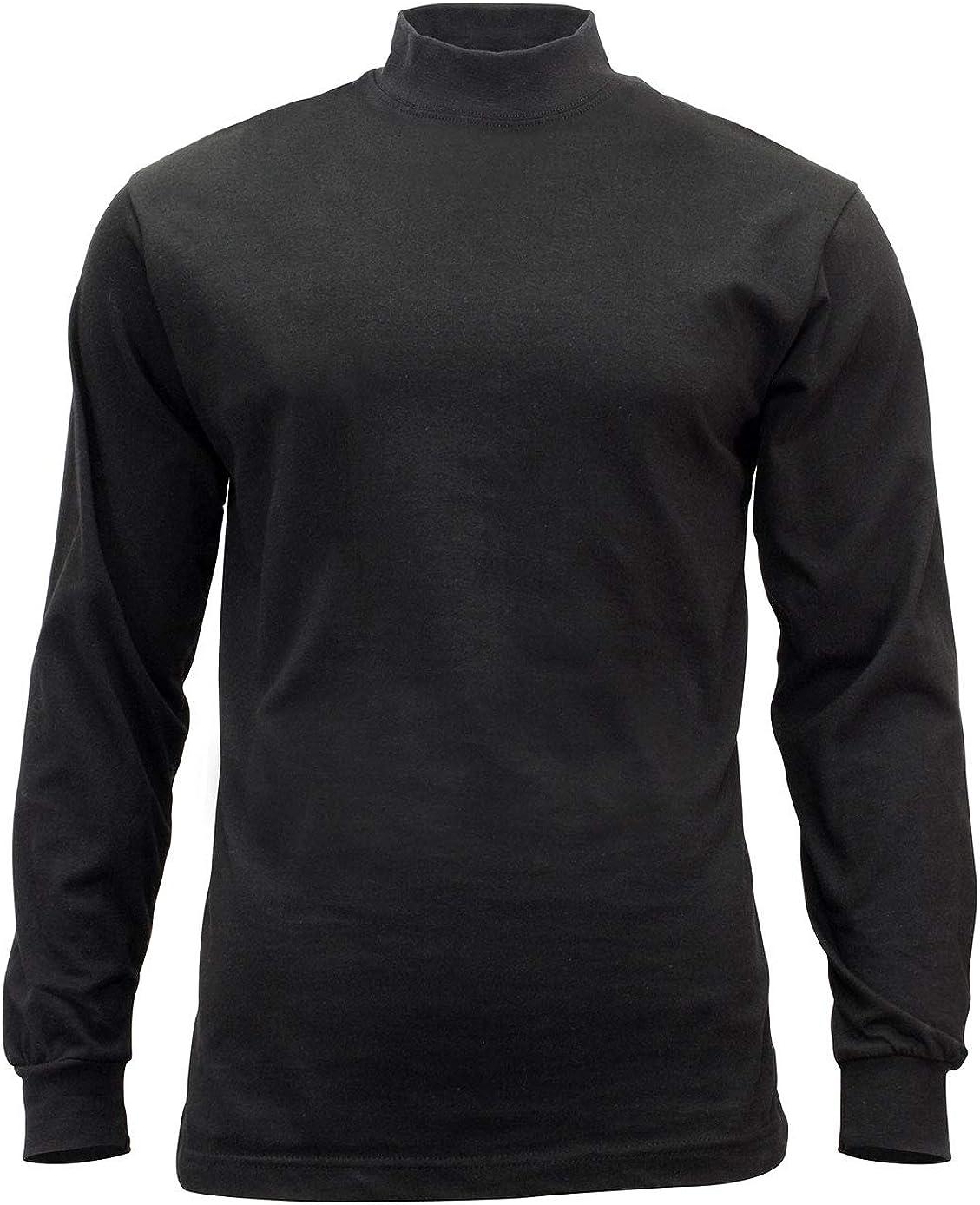 Rothco Mock Turtleneck: Clothing
