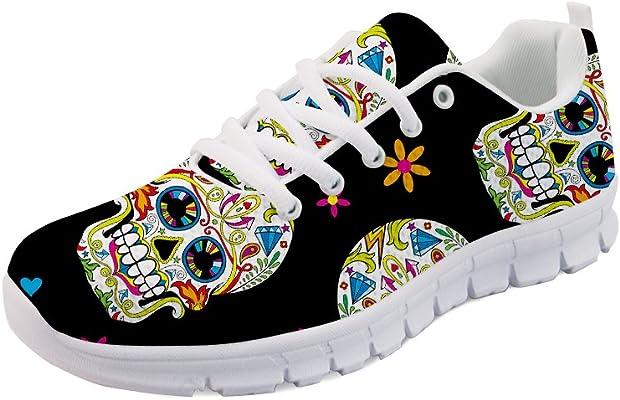 chaussures tête de mort 1