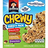 Quaker Chewy Granola Bars, Variety Pack, 8 count (Pack of 6) (Packaging may vary) For Sale