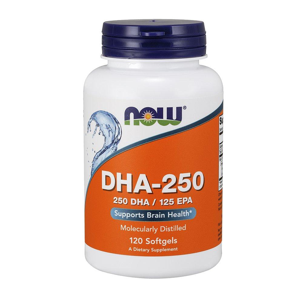 NOW DHA-250,120 Softgels