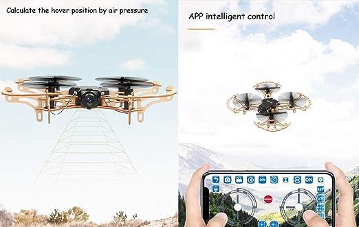JJR/C DIY FPV WiFi Modelo de avión no tripulado de Madera RC Quad ...