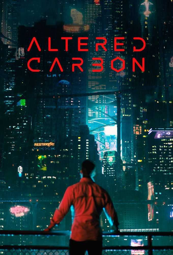 Altered Carbon Takeshi Kovacs Joel Kinnaman TV Series - Póster sin ...