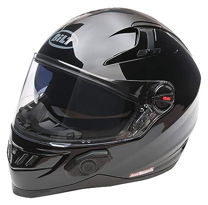 48451f11 Amazon.com: Bilt Techno 2.0 Bluetooth Helmet (L, Black): Automotive