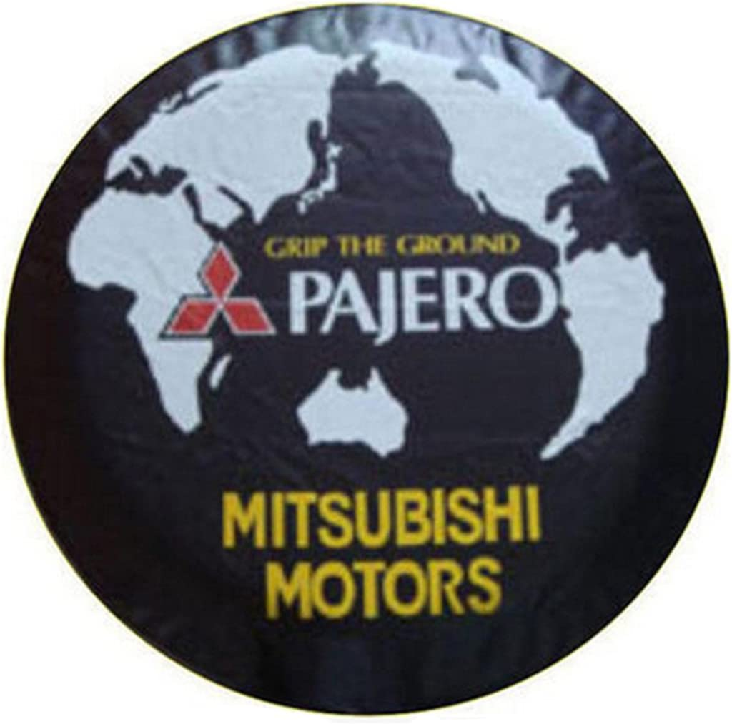 PVC Car Spare Wheel Cover 17 Inches Compatible For Mitsubishi Pajero V33 V73 V31 V32 Spare Tire Cover 31-32.6