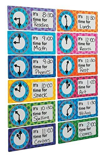 "HUGE Dry Erase Schedule Keeper Magnets (12 Pack) Vinyl. 12"" x 5"""