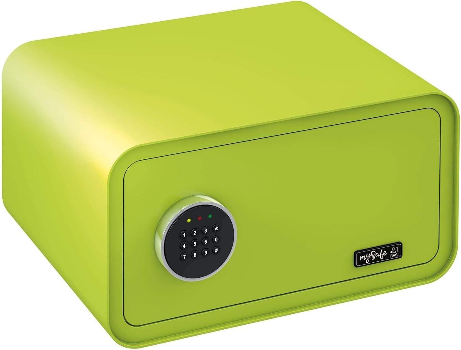 MySafe A x L x P viola codice numerico Verde rosa 230 x 430 x 350 mm blu//bianco disponibile in diversi colori verde Cassaforte di design