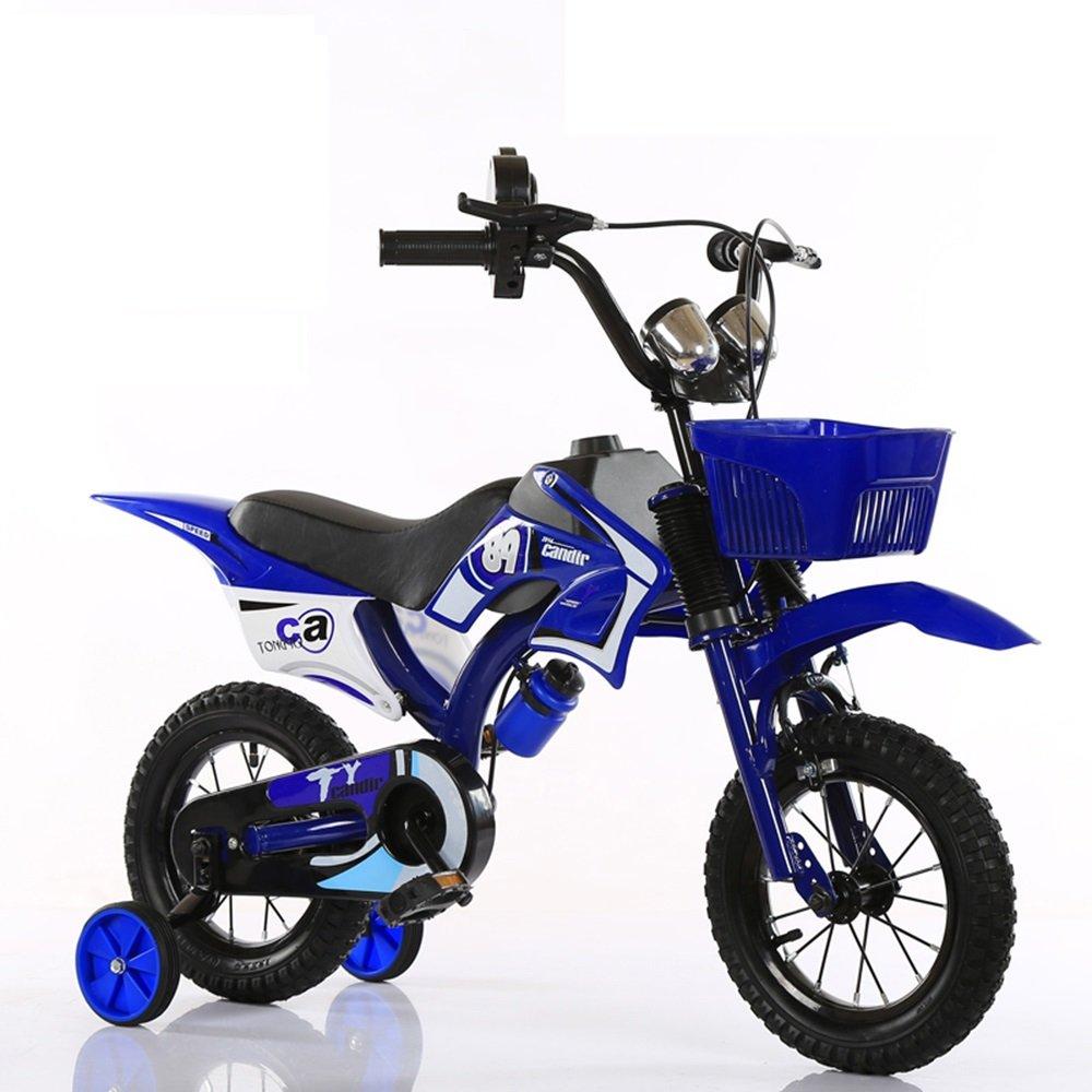 2-8歳の子供サイクリング、子供用自転車、12/14インチ/ 16インチ18インチの男性ベビーカー ( 色 : 青 , サイズ さいず : 115*80cm ) B078KNZNNF青 115*80cm