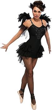 Rubies s Oficial Ladies Negro Cisne Ballet Halloween Costume ...