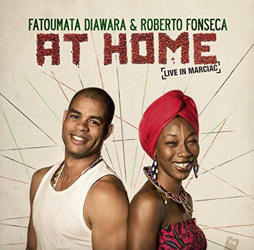 Vinilo : Roberto Fonseca & Fonseca Diawara - At Home (10-Inch Vinyl, 180 Gram Vinyl, Digital Download Card, 2PC)