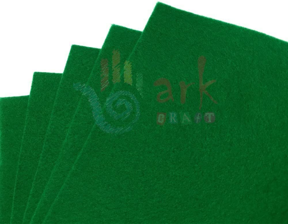 A4 Size 5 Per Pack arkCRAFT Felt Sheets Black