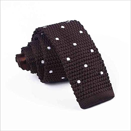 Corbata Plana de Punto, Cuello angosto de la Moda Coreana, Corbata ...
