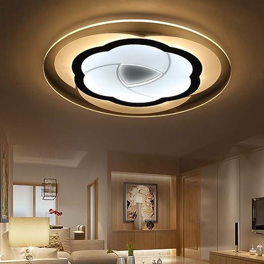 50 cm Lámpara de techo Plafones LED regulable con control ...