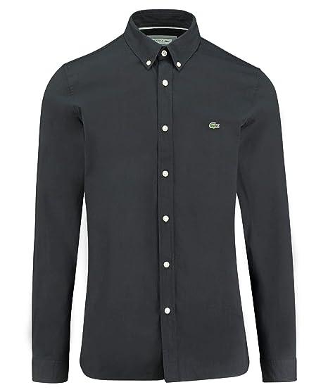 Lacoste CH5816 Hombre Camisa Manga Larga, de Caballero Camisa, con ...