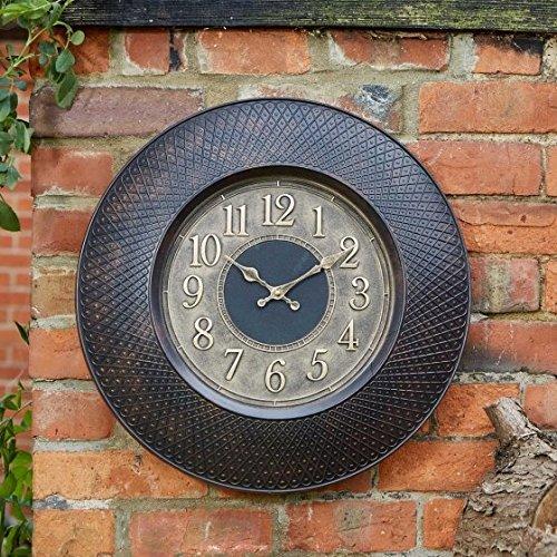 Outside In Designs Richmond Wall Clock Smart Garden