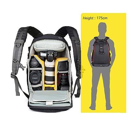 ivotre antirrobo resistente al agua mochila para cámara réflex digital Nikon Canon para hombres y mujeres