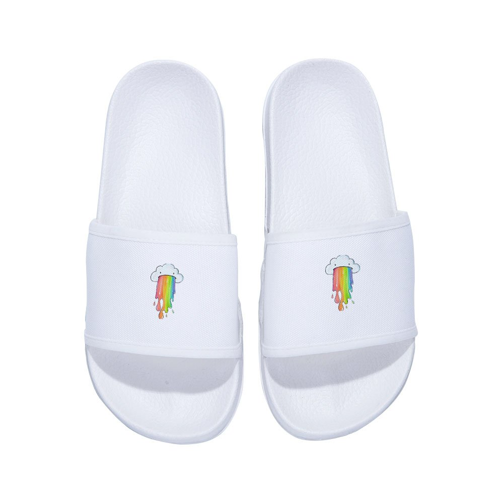Chad Gold Boys Girls Anti-Slip Bath Slippers Bathroom Slippers Shower Shoes Gym Slippers Little Kid//Big Kid