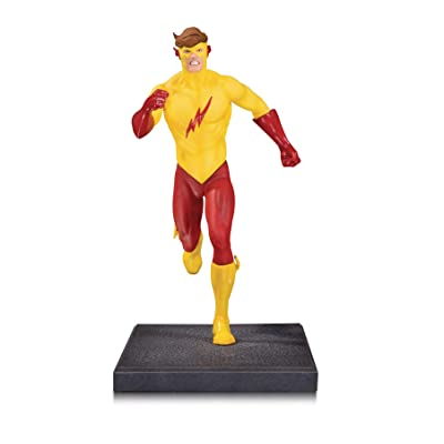 DC Collectibles The New Teen Titans: Kid Flash Multi-Part Statue: Toys & Games