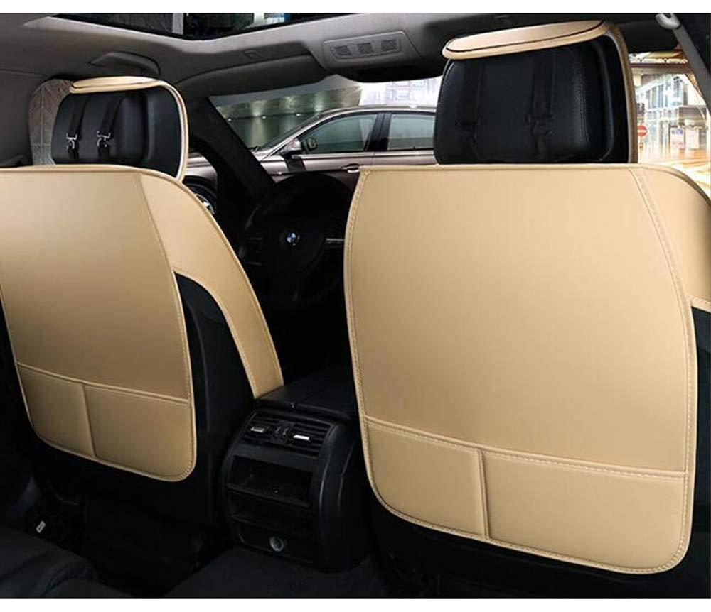 5 Places Beige Audi pour Q7 A6 HRFHLHY Lot de 9 si/èges de Voiture A4 Q5 Q3 A7 A1 A5 A3 A8