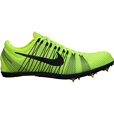 Nike Zoom Victory 2 Middle Distance Running Spikes Mens Yellow N