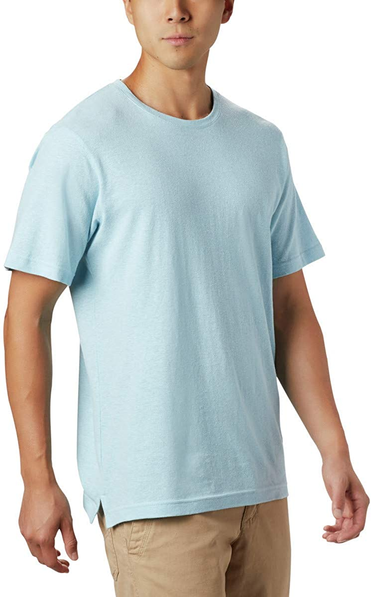 Columbia Men/'s Summer Chill Short Sleeve Tee Shirt Organic Cotton Blend