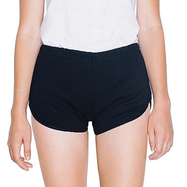 Womens Interlock Running Short 7301Black