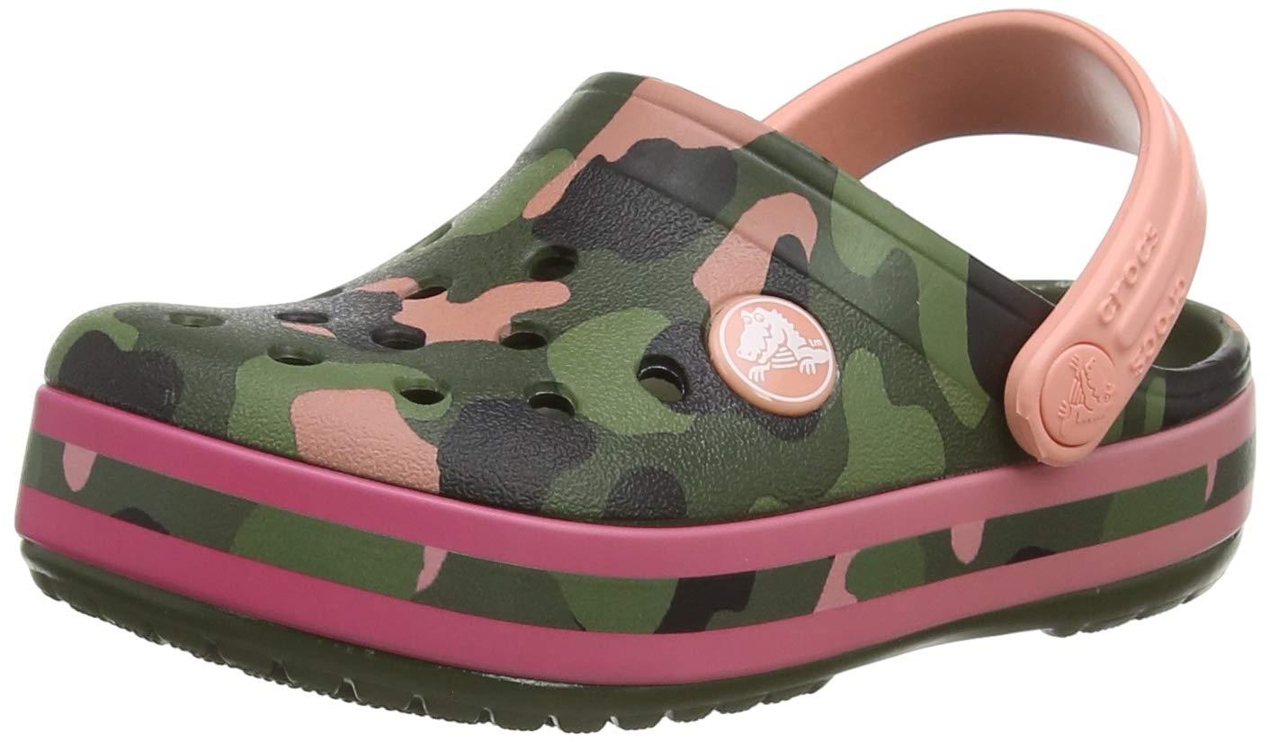 Crocs Unisex Babies/' Crocband Multigraphic Clog K