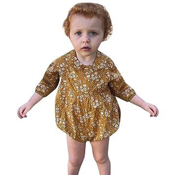cc6ebf0ca0311 Zoiearl 人気 新生児 ロンパース カバーオール 女の子 秋冬春 長袖 赤ちゃん服 ベビー服 フリル 可愛い 新生児服