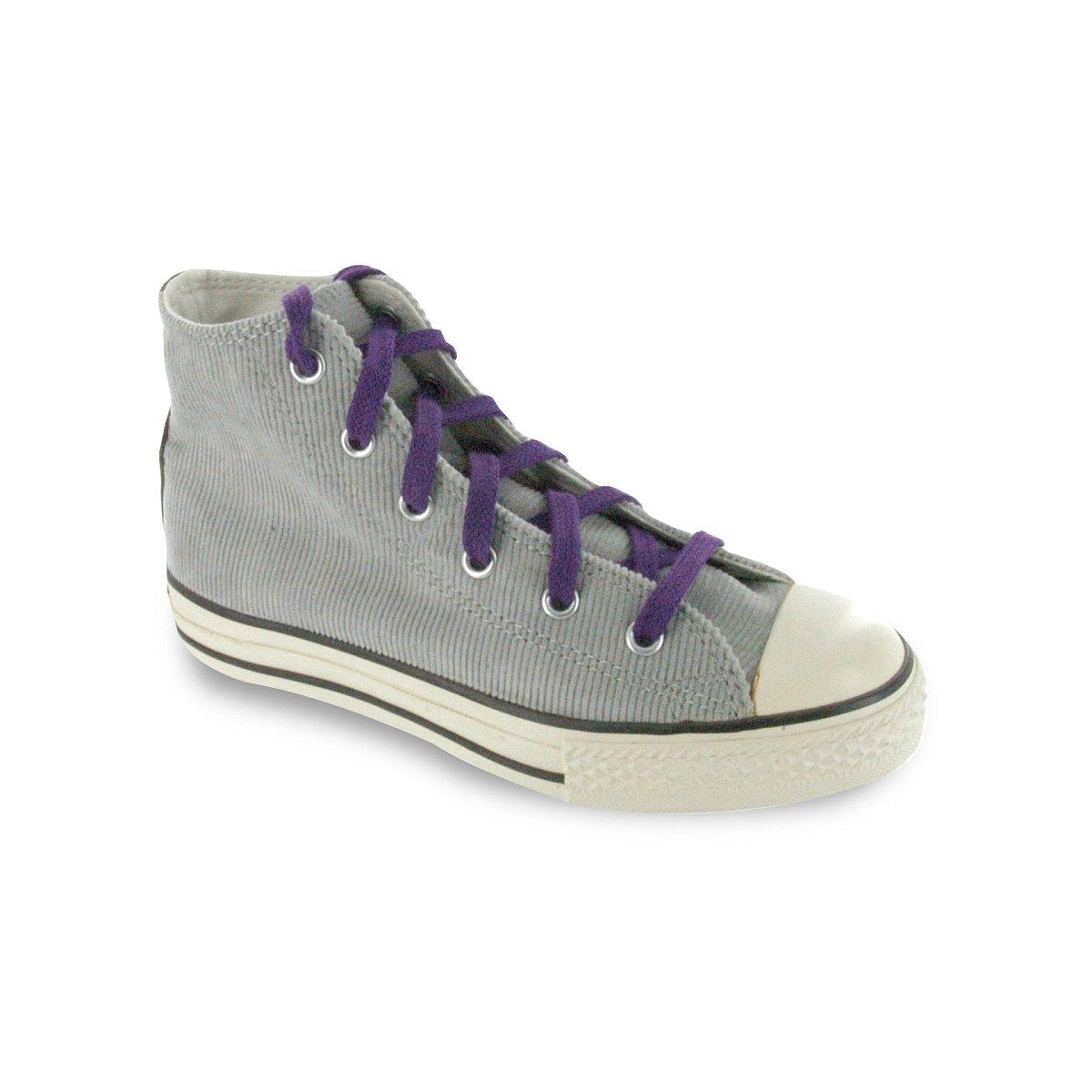 Meslacets Lacets chaussures de sport plats et larges coton 150CM