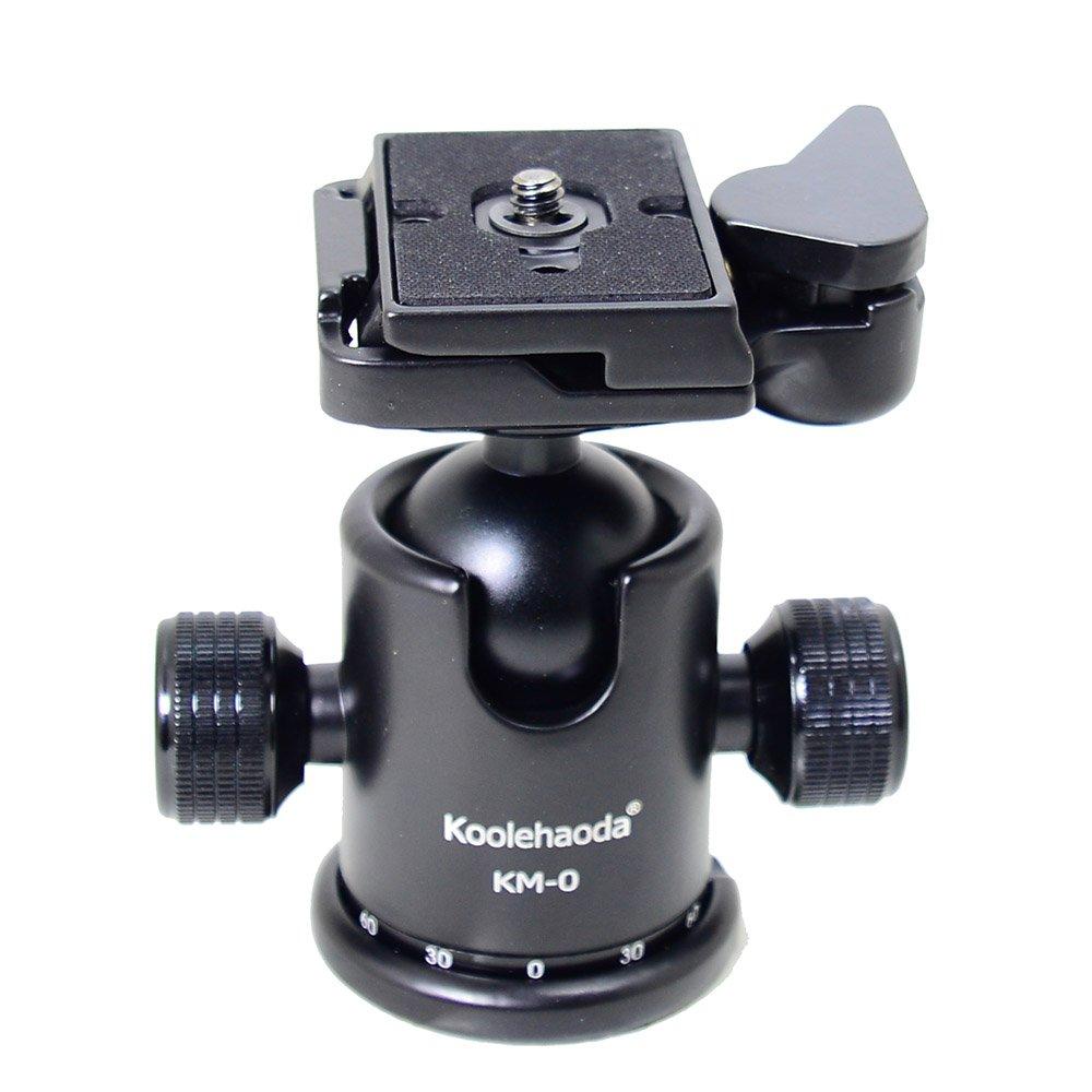 Koolehaoda Panoramic Head Professional Camera Tripod Panoramic Head Holder Universal Quick Release Plate koledea