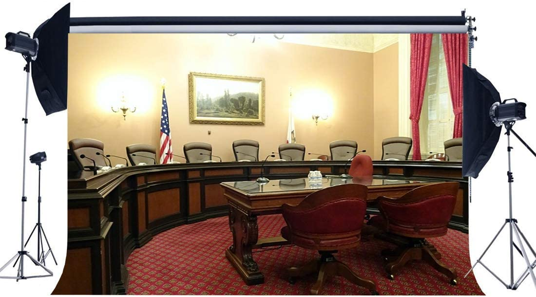 Amazon Com Goeoo American Office Room Backdrop 10x8ft Vinyl Presidential Office Building Backdrops Soft Chairs And Desk Red Carpet Luxurious Interior Photography Background For Person Photo Studio Props Camera Photo